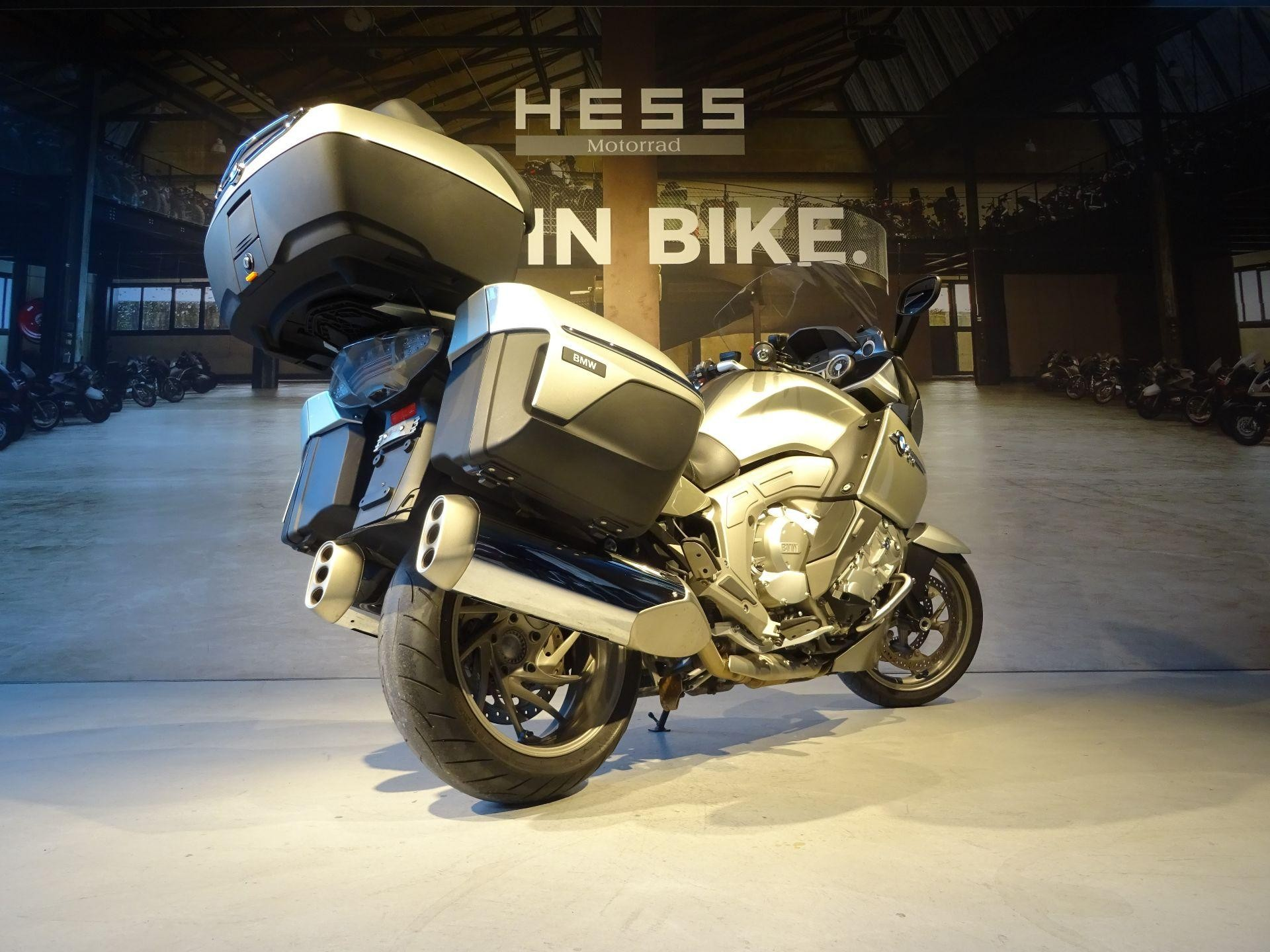 moto occasions acheter bmw k 1600 gtl abs hess motorrad stettlen. Black Bedroom Furniture Sets. Home Design Ideas
