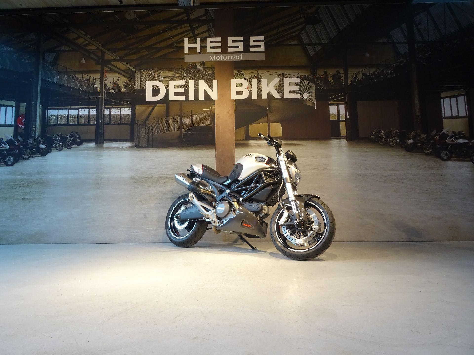 motorrad occasion kaufen ducati 696 monster abs hess motorrad stettlen. Black Bedroom Furniture Sets. Home Design Ideas