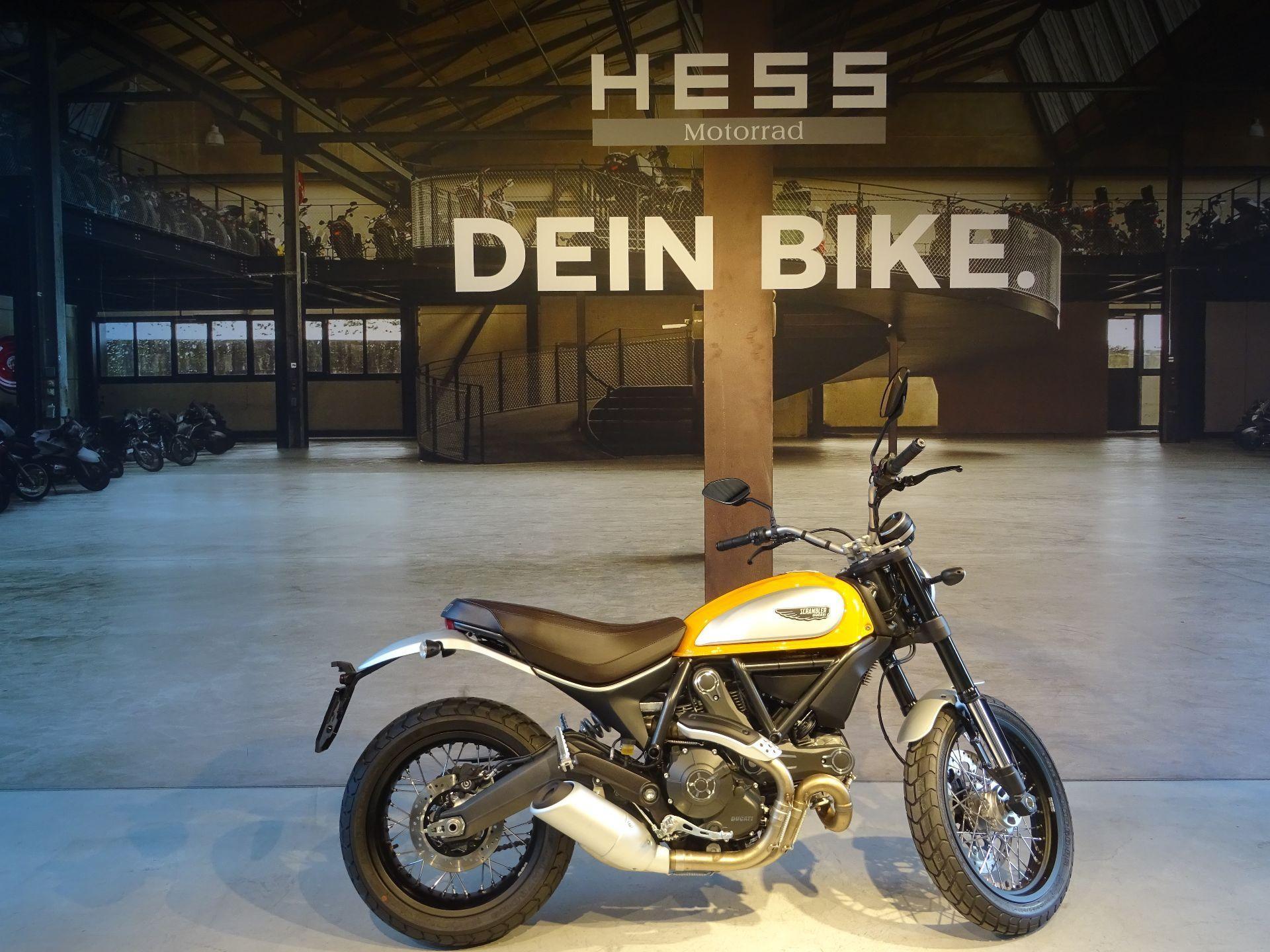 motorrad vorf hrmodell kaufen ducati 803 scrambler classic hess motorrad stettlen. Black Bedroom Furniture Sets. Home Design Ideas