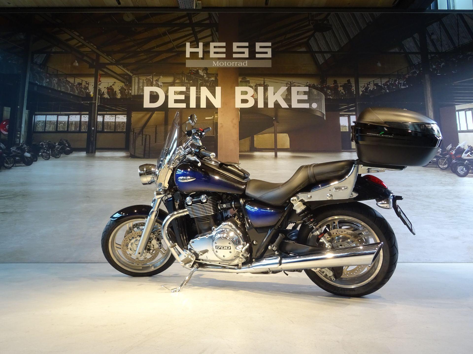motorrad occasion kaufen triumph thunderbird 1700 abs hess motorrad stettlen. Black Bedroom Furniture Sets. Home Design Ideas