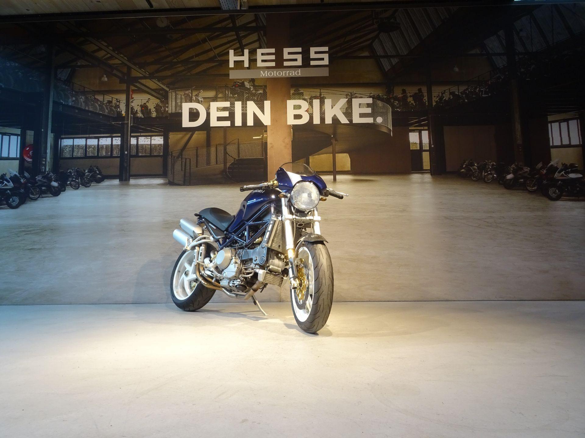 motorrad occasion kaufen ducati 996 monster s4 r hess motorrad stettlen. Black Bedroom Furniture Sets. Home Design Ideas