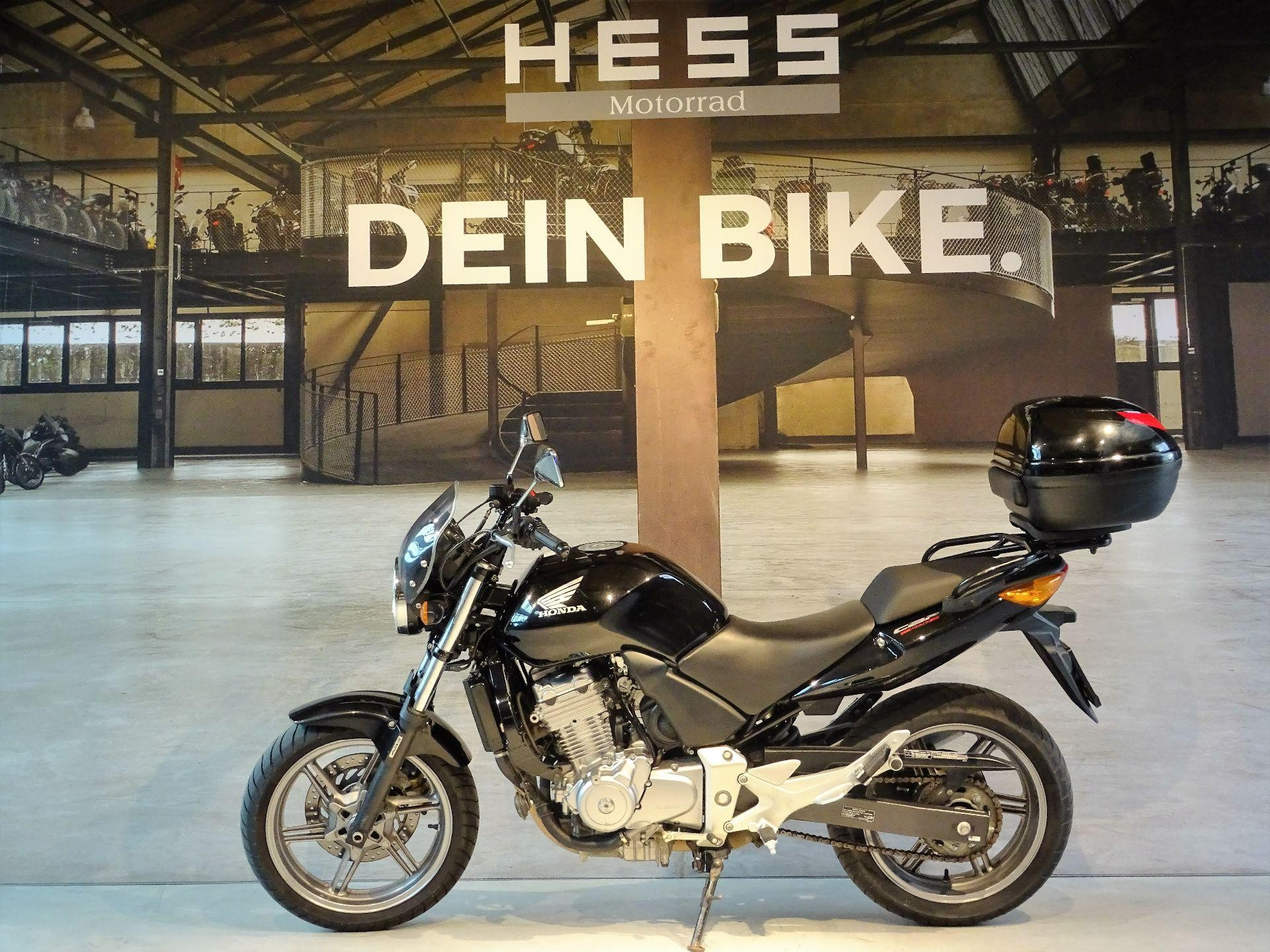 moto occasions acheter honda cbf 500 abs hess motorrad stettlen. Black Bedroom Furniture Sets. Home Design Ideas