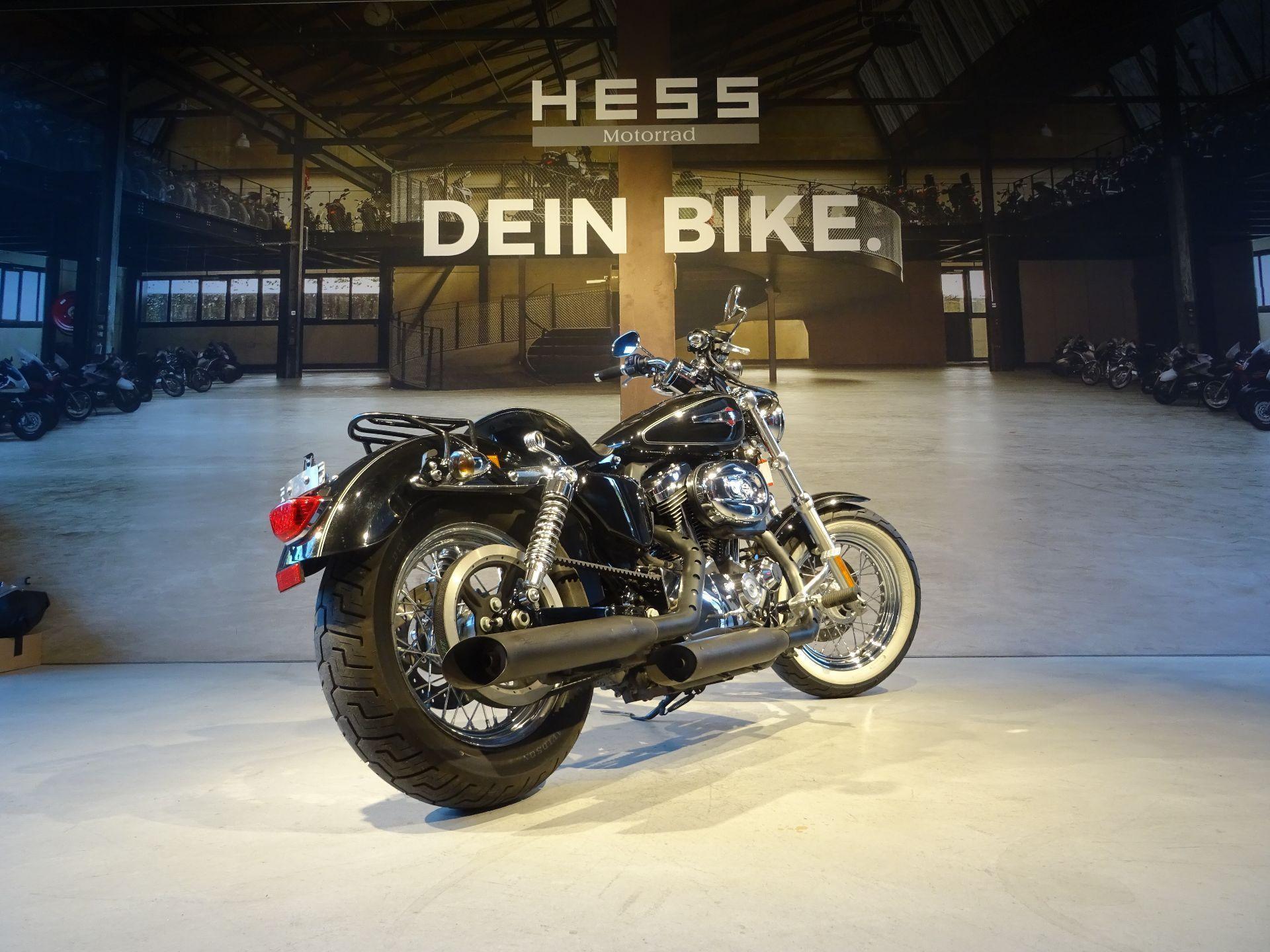 motorrad occasion kaufen harley davidson xl 1200c sportster custom hess motorrad stettlen. Black Bedroom Furniture Sets. Home Design Ideas