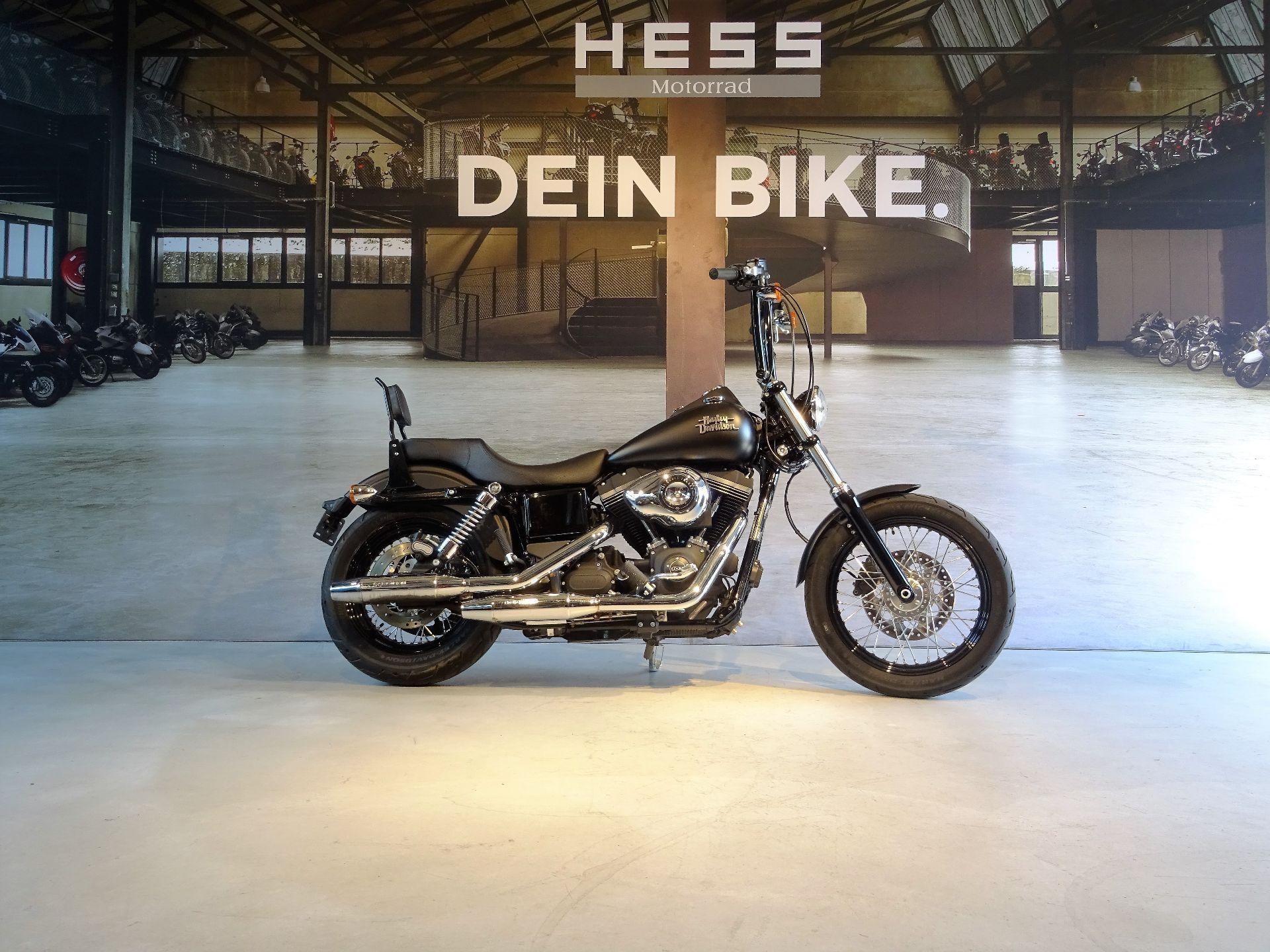 motorrad occasion kaufen harley davidson fxdb 1690 dyna. Black Bedroom Furniture Sets. Home Design Ideas