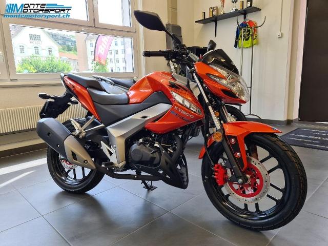 Motorrad kaufen KYMCO Visar 125 Neufahrzeug