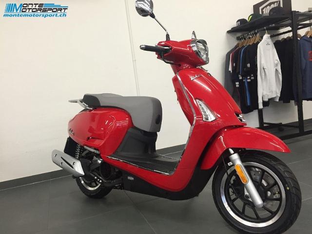 Motorrad kaufen KYMCO Like 125 i II CBS Neufahrzeug