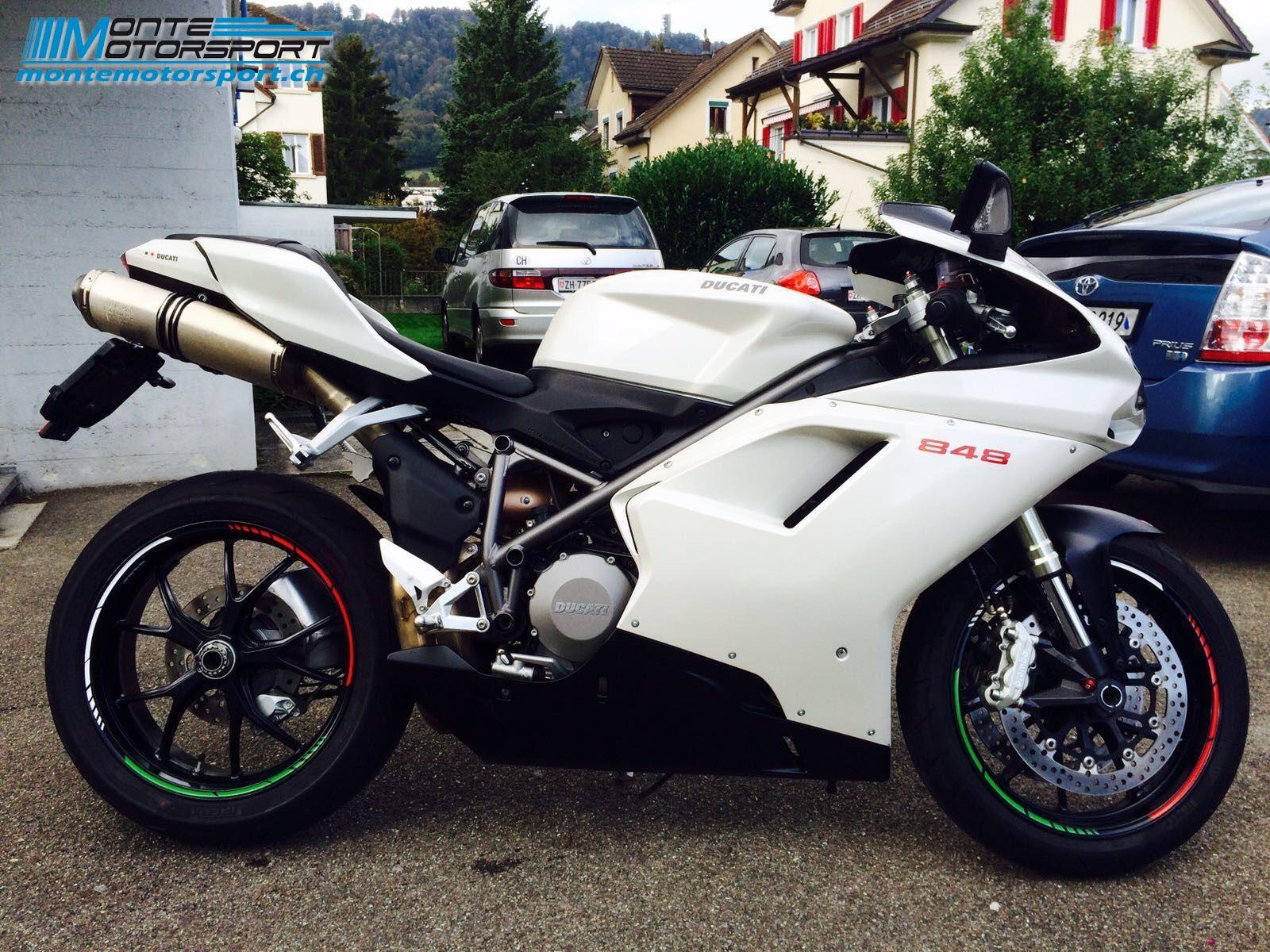 motorrad occasion kaufen ducati 848 superbike montemotorsport adliswil. Black Bedroom Furniture Sets. Home Design Ideas