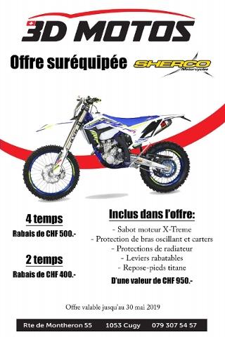 Motorrad kaufen SHERCO 250 SEF-R Neufahrzeug