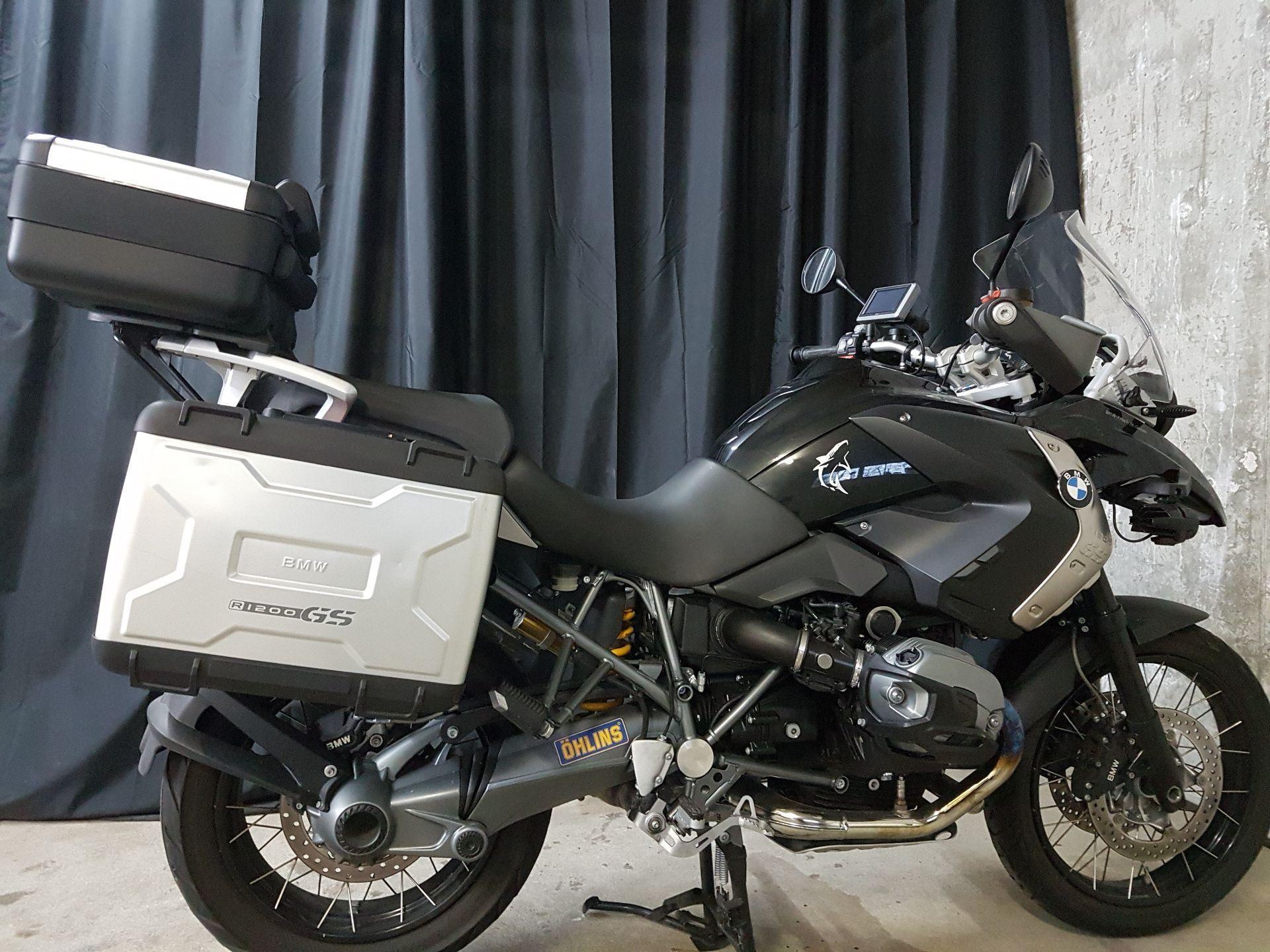 moto occasions acheter bmw r 1200 gs triple black berserker cycles untereggen. Black Bedroom Furniture Sets. Home Design Ideas