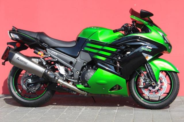 Motorrad kaufen KAWASAKI ZZR 1400 ABS Performance Sport Vorführmodell