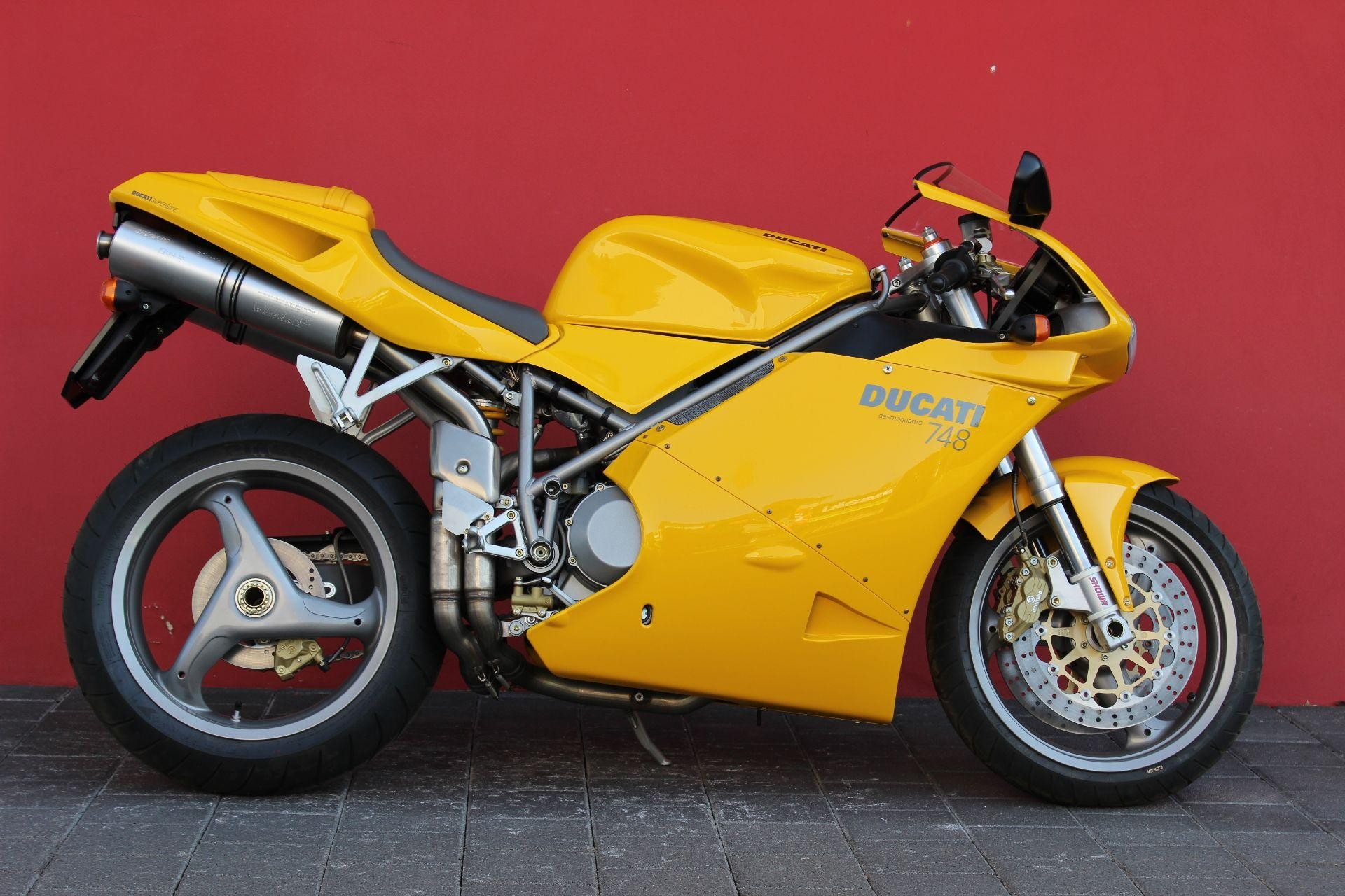 DUCATI 748 Biposto New vehicle/bike