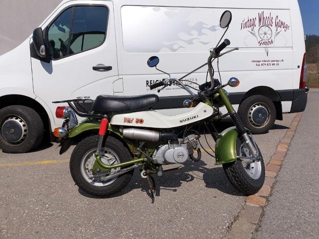 Motorrad kaufen SUZUKI RV50 Oldtimer