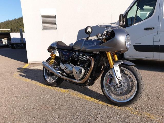 Motorrad kaufen TRIUMPH Thruxton 1200 R ABS  Cafe Racer Occasion