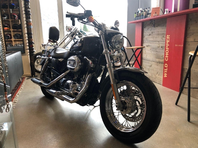 Motorrad kaufen HARLEY-DAVIDSON XL 1200 C Sportster Custom ABS Occasion