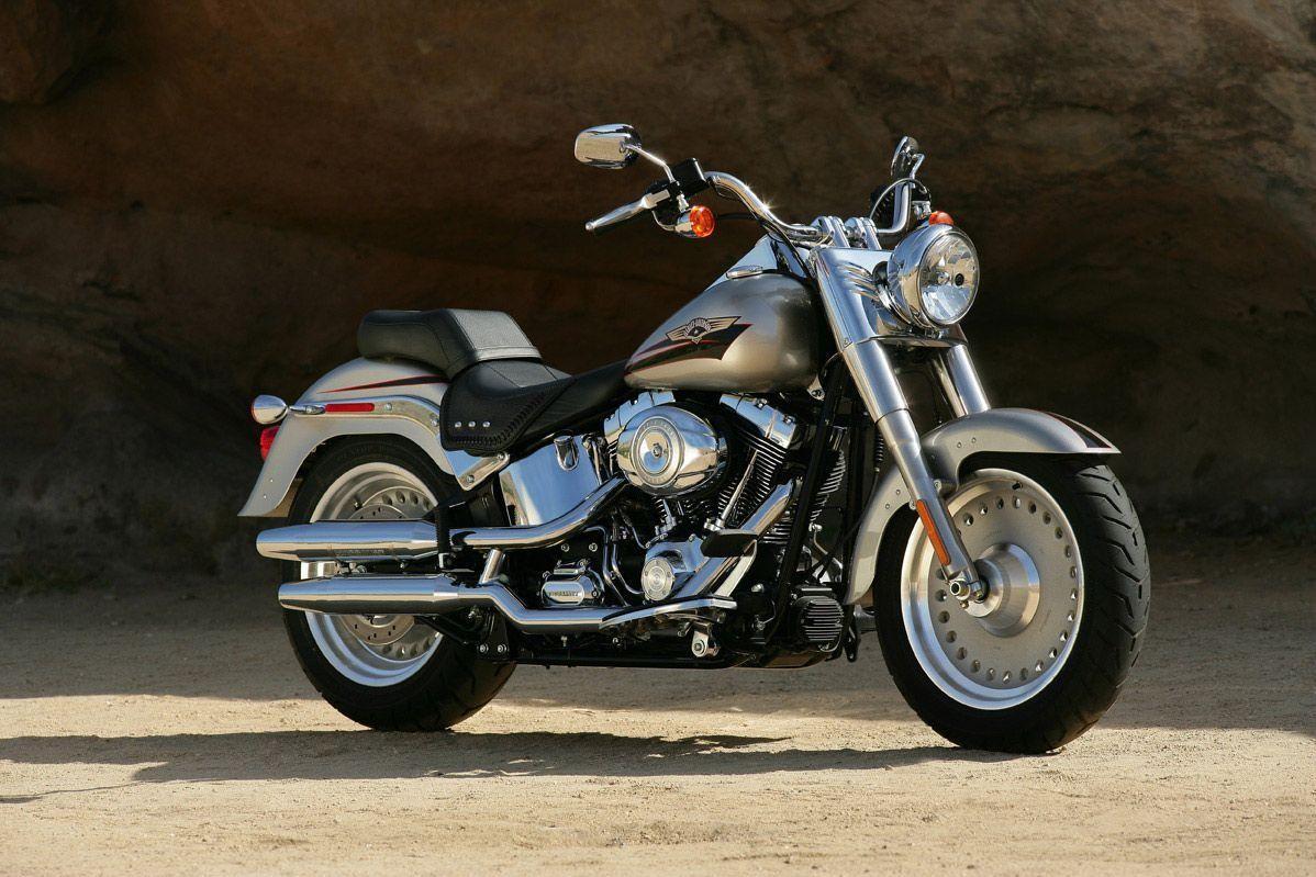 Motorrad Mieten & Roller Mieten HARLEY-DAVIDSON FLSTF 1584 Softail Fat Boy