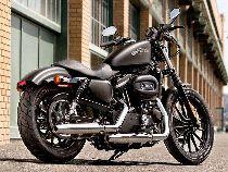 Motorrad Mieten & Roller Mieten HARLEY-DAVIDSON XL 883N Iron (Custom)