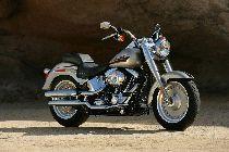 Motorrad Mieten & Roller Mieten HARLEY-DAVIDSON FLSTF 1584 Softail Fat Boy (Custom)