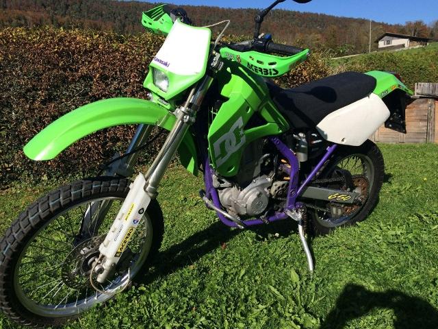 Motorrad kaufen KAWASAKI KLX 650 R Occasion