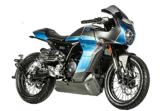 Motorrad kaufen MONDIAL Sport Classic 300 Neufahrzeug
