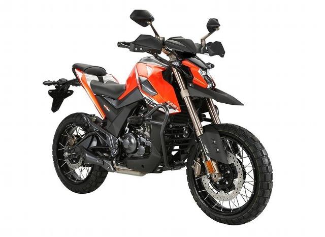 Motorrad kaufen ZONTES Alle KD 125 U 1 Neufahrzeug