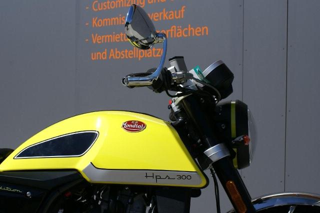 Motorrad kaufen MONDIAL HPS 300 Neufahrzeug