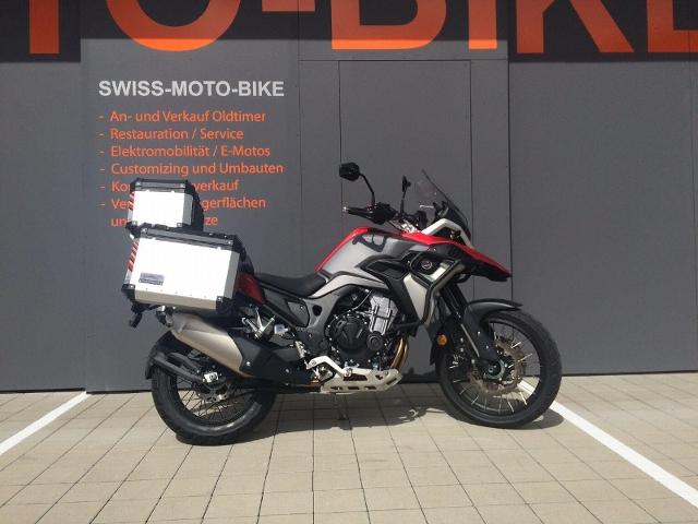 Motorrad kaufen COLOVE 500X Adventure Neufahrzeug