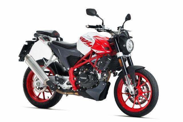 Motorrad kaufen SWM Varez 125 Neufahrzeug