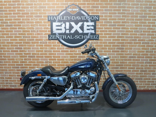 Motorrad kaufen HARLEY-DAVIDSON XL 1200 C Sportster Custom mit J&H Auspuff Occasion