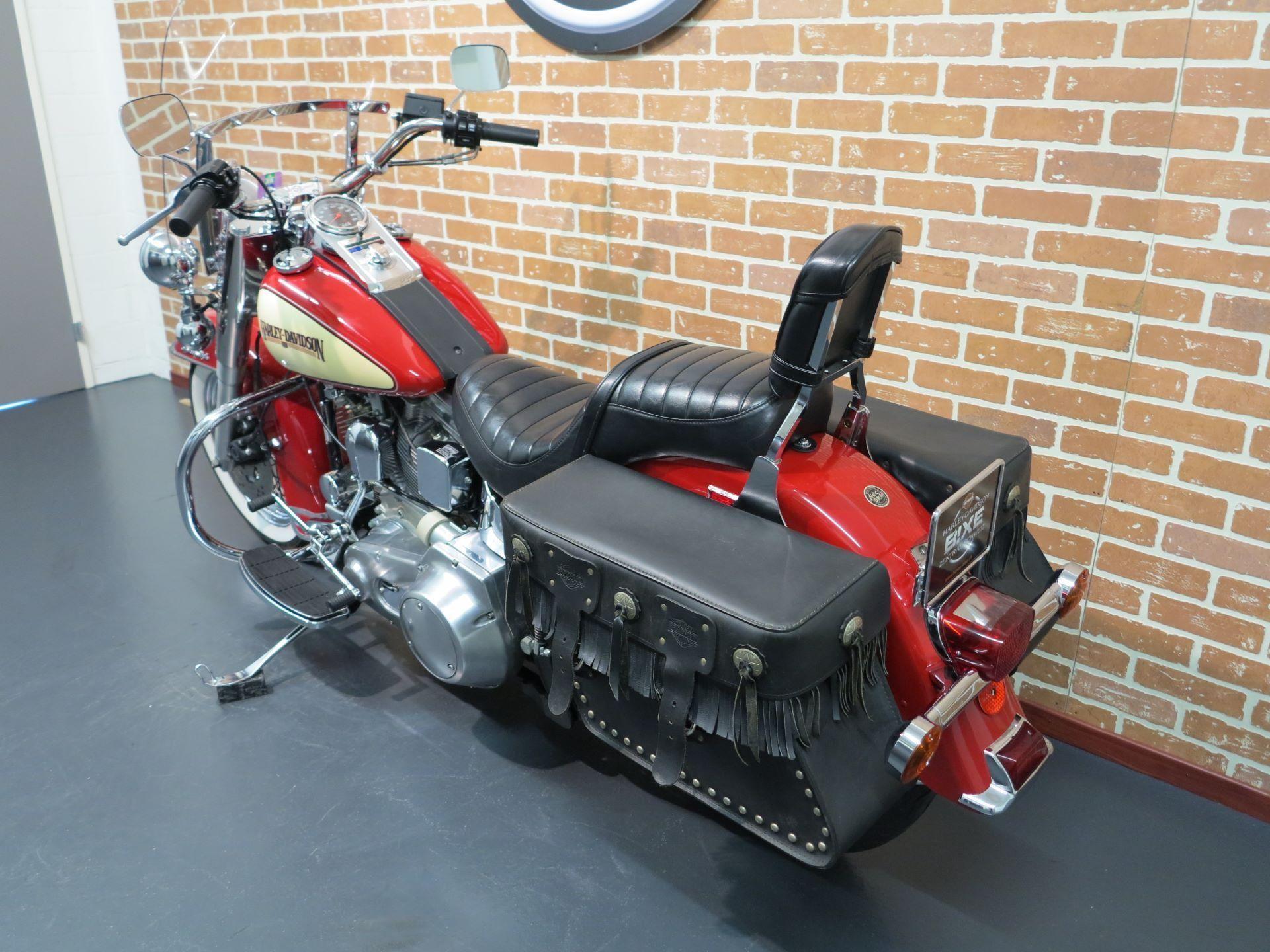 moto occasions acheter harley davidson flst 1340 softail heritage sp ed harley davidson. Black Bedroom Furniture Sets. Home Design Ideas