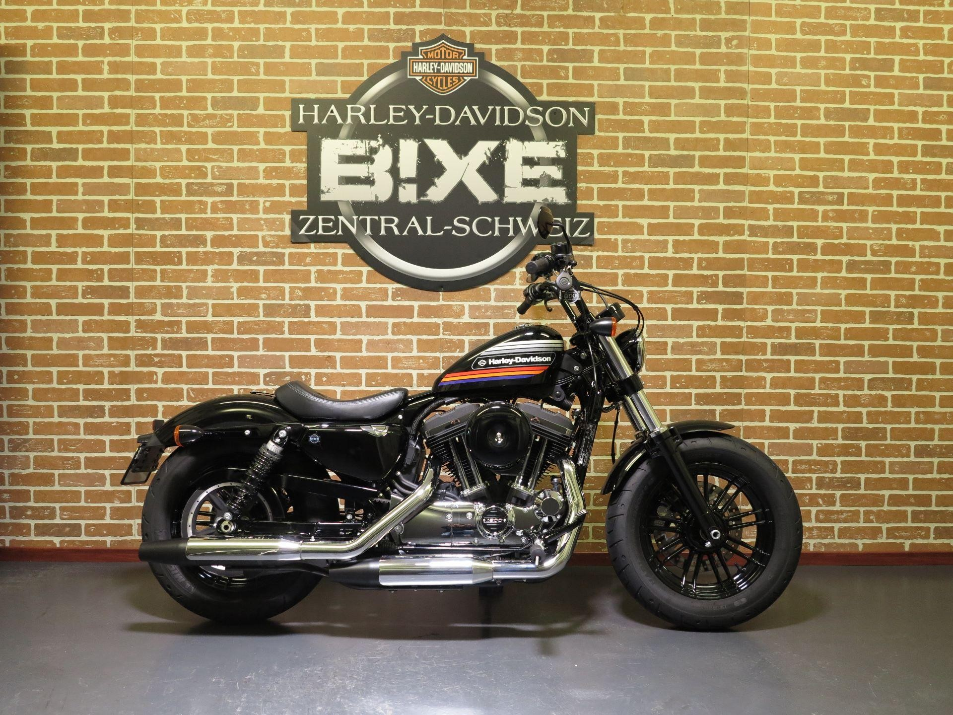 Motorrad Occasion Kaufen Harley Davidson Xl 1200 Xs Sportster Forty Eight Special Abs