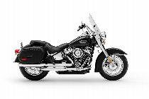 Motorrad Mieten & Roller Mieten HARLEY-DAVIDSON FLHC 1745 Heritage Classic 107 (Touring)