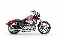 Motorrad Mieten & Roller Mieten HARLEY-DAVIDSON XL 883 L Sportster Super Low (Custom)