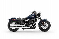 Motorrad Mieten & Roller Mieten HARLEY-DAVIDSON FLSL 1745 Softail Slim 107 (Custom)