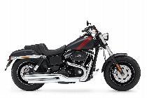 Töff kaufen HARLEY-DAVIDSON FXDF 1690 Dyna Fat Bob ABS Custom