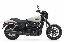 Motorrad Mieten & Roller Mieten HARLEY-DAVIDSON Street 750 (Custom)