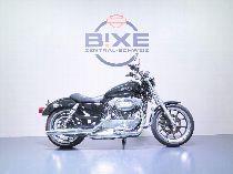 Motorrad kaufen Occasion HARLEY-DAVIDSON XL 883 L Sportster Low ABS (custom)