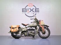 Motorrad kaufen Oldtimer HARLEY-DAVIDSON WLA (touring)
