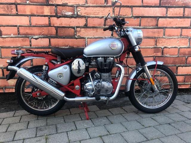Motorrad kaufen ROYAL-ENFIELD Bullet 500 Trial 500 Neufahrzeug