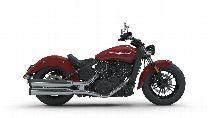 Motorrad Mieten & Roller Mieten INDIAN Scout Sixty ABS (Custom)