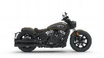 Motorrad Mieten & Roller Mieten INDIAN Scout Bobber (Custom)