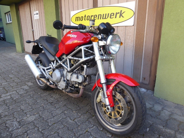Motorrad kaufen DUCATI 1000 I.E. Monster X Occasion
