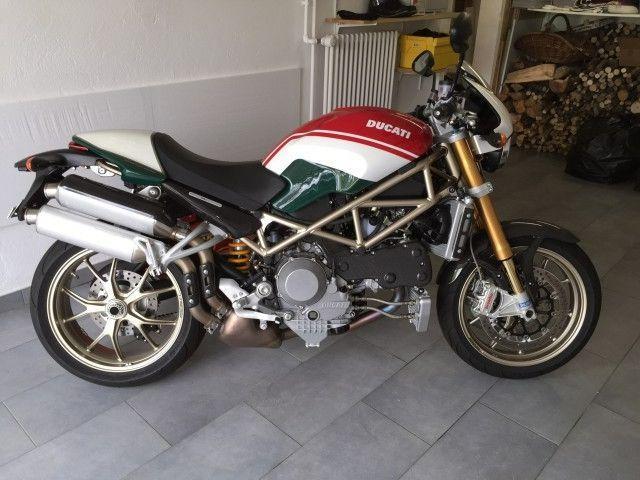 Motorrad kaufen DUCATI 1000 Monster S4Rs Testastretta Occasion