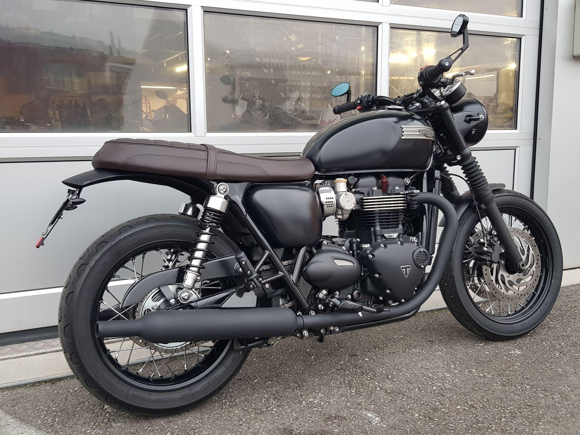 Moto Occasions Acheter Triumph Bonneville T120 1200 Abs Motec