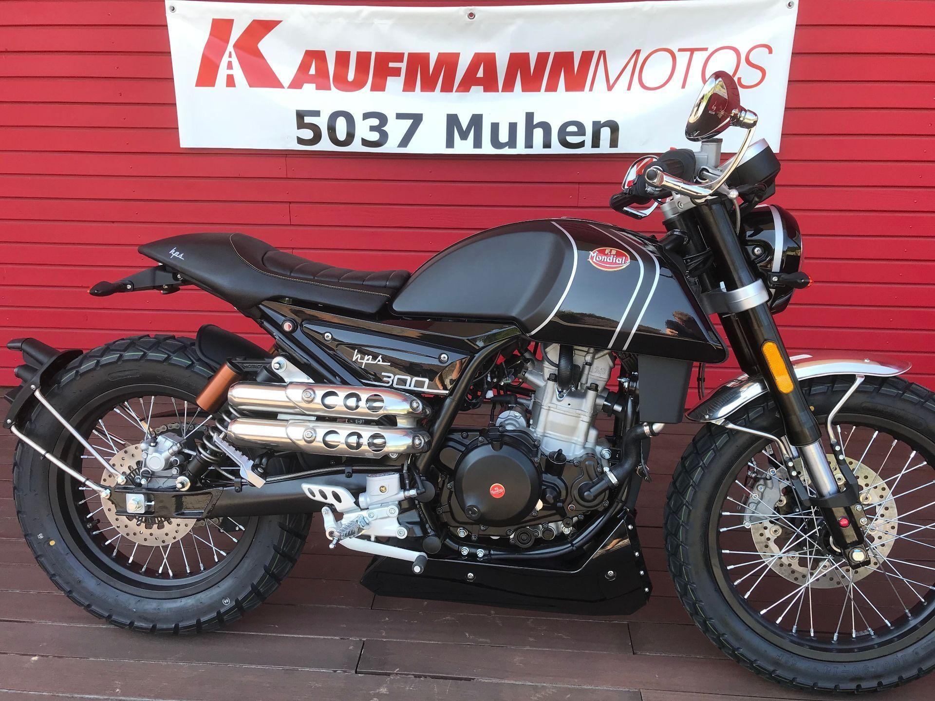 moto neuve acheter mondial hps 125 hps 300 kaufmann motos ag muhen. Black Bedroom Furniture Sets. Home Design Ideas