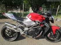 Motorrad Mieten & Roller Mieten MV AGUSTA F4 1090 Brutale RR (Naked)