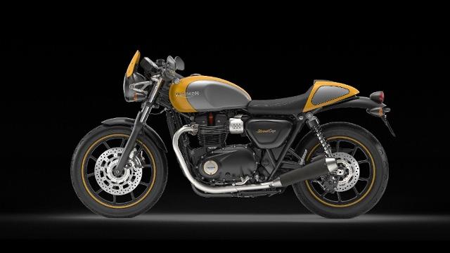 Motorrad kaufen TRIUMPH Street Cup 900 ABS *9756* Neufahrzeug
