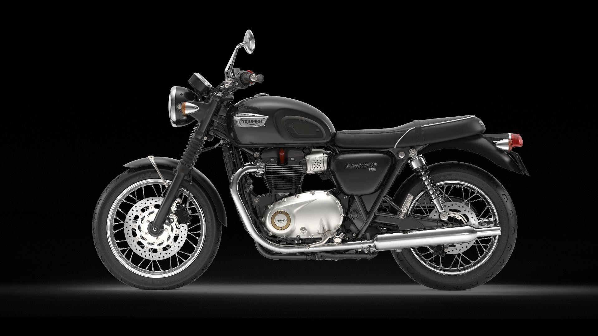 Buy Motorbike New Vehiclebike Triumph Bonneville T100 900 Abs 9432