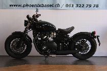 Acheter une moto Occasions TRIUMPH Bonneville 1200 Bobber Black (retro)