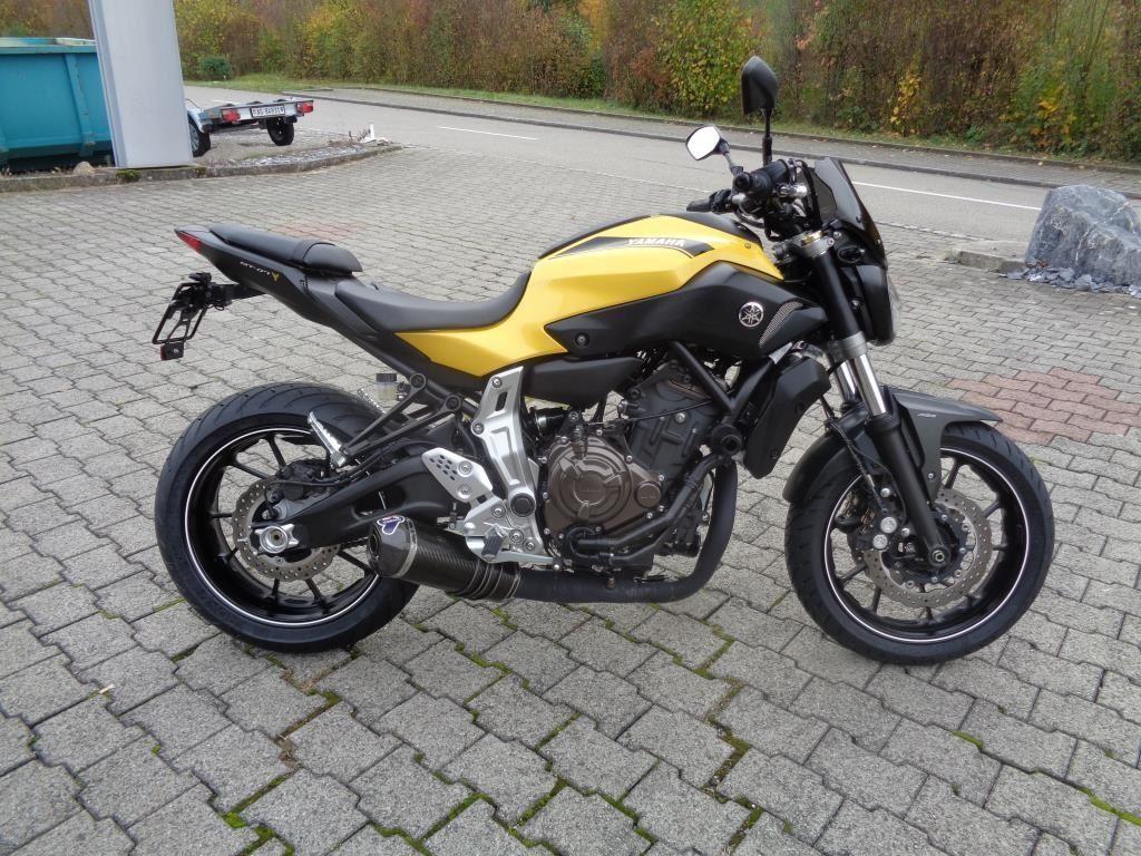 motorrad occasion kaufen yamaha mt 07 abs brutschi motos eiken. Black Bedroom Furniture Sets. Home Design Ideas