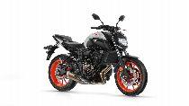 Motorrad Mieten & Roller Mieten YAMAHA MT 07 ABS (Naked)